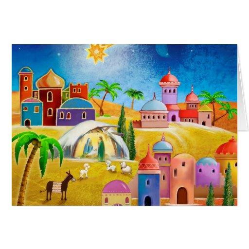 Star over Bethlehem x-mas card