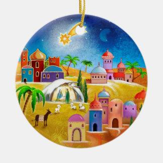 Star over Bethlehem x-mas ornament
