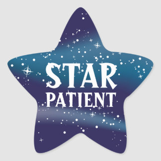 Star Patient Pediatric Stickers