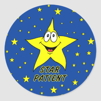 Star Patient Stickers