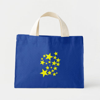 Star Pattern Tote Bags