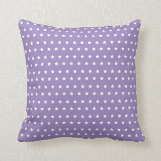 Star Pattern. Purple Star Collection Cushion