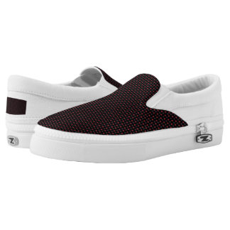Star Pattern Slip On Shoes