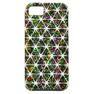 Star Pattern With Paint Splatter iPhone 5 Cover