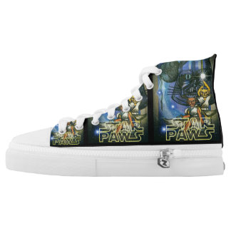Star Paws High Top Sneakers