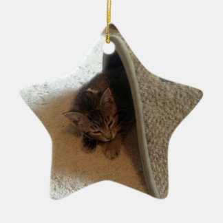 Star Photo Ornament