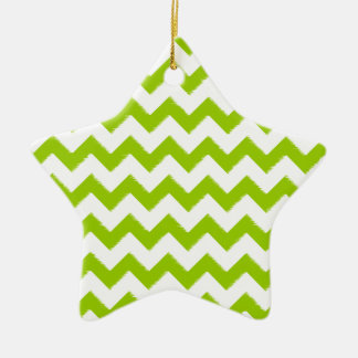 Star Photo Ornament you pick color lime