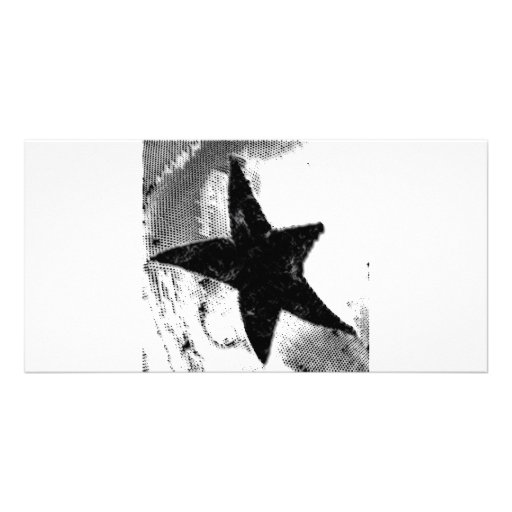 Star Photo Card Template