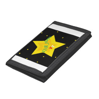 STAR plays wallet in neon blue