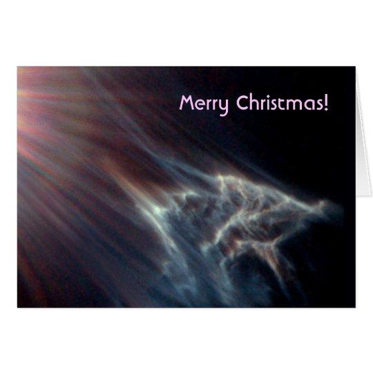 Star / Pleiades star cluster starlight effect Card
