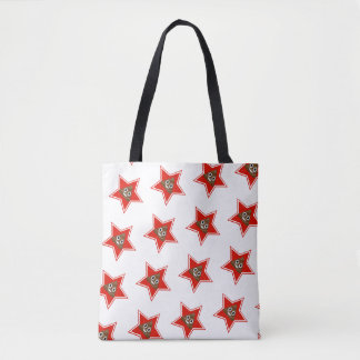 Star Poo Emoji Tote Bag