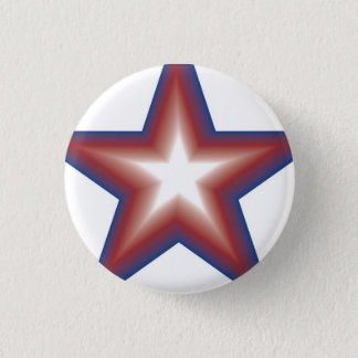 Star Power 3 Cm Round Badge