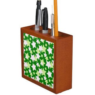 STAR POWER - Green ~ Pencil Holder