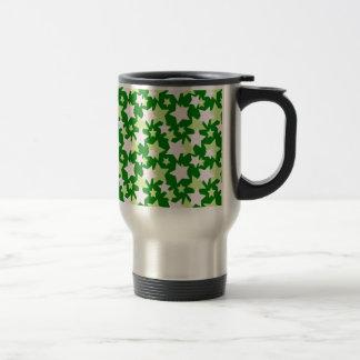STAR POWER - Green ~ Stainless Steel Travel Mug