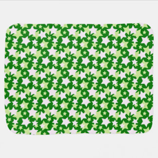 STAR POWER - Green ~ Swaddle Blankets