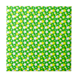 STAR POWER: In the Green! ~ Small Square Tile