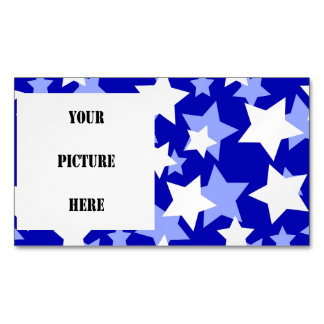 STAR POWER third movement! (blue and white) ~.jpg Magnetic Business Cards