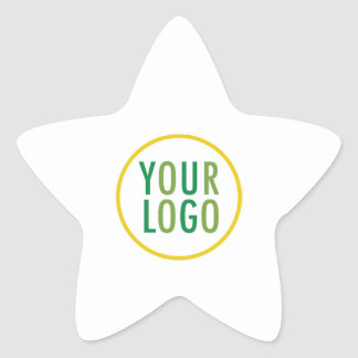 Star Promotional Stickers Company Logo Low Minimum