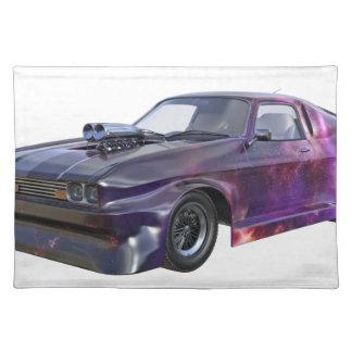 Star Purple Racing Car Placemat
