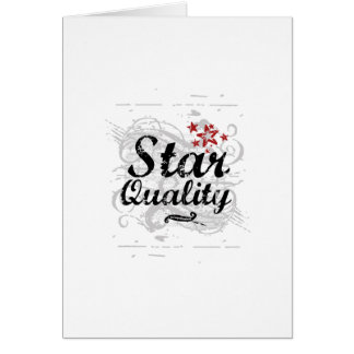 Star Quality Card