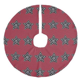star quality faux linen tree skirt