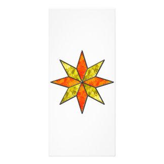 Star Customized Rack Card
