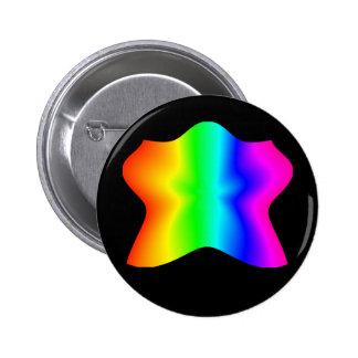 Star Rainbow #2 Pinback Button