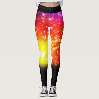 Star Rainbow Leggings