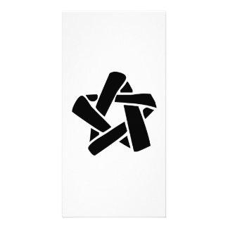 Star Ribbon Personalized Photo Card