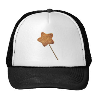 Star shaped cookie trucker hat
