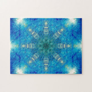 Star Shaped Mandala Jigsaw Puzzle