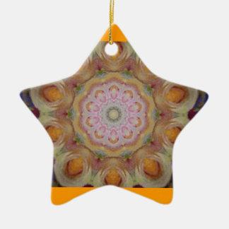 Star Shaped Ornament Kaleidoscope Design Christmas Ornament