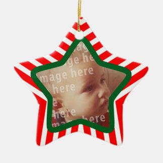 Star Shaped Photo Frame Ceramic Star Decoration