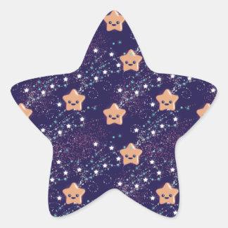Star Shaped Stickers - Kawaii Star