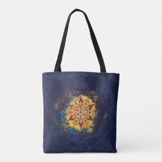 Star Shine Blue and Gold Bag