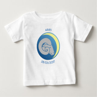 Star Sign Baby T-shirt Aries