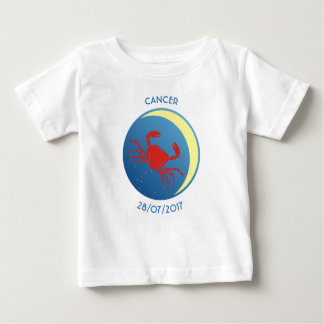 Star Sign Baby T-shirt Cancer