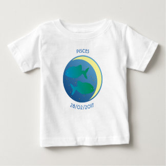 Star Sign Baby T-shirt Pisces