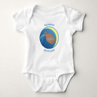 Star Sign Baby Vest Aquarius Baby Bodysuit