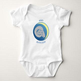 Star Sign Baby Vest Aries Baby Bodysuit