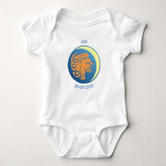 Star Sign Baby Vest Leo Baby Bodysuit