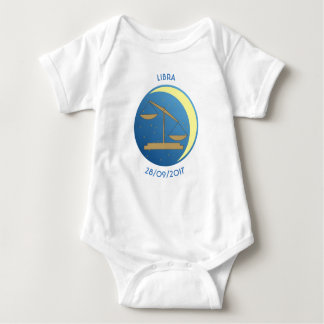 Star Sign Baby Vest Libra Baby Bodysuit