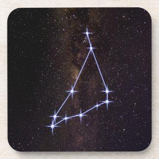 Star Sign Capricorn Coaster