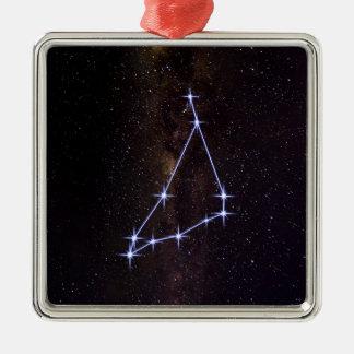 Star Sign Capricorn Metal Ornament