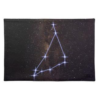 Star Sign Capricorn Place Mats