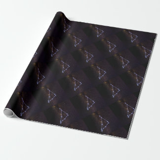 Star Sign Capricorn Wrapping Paper