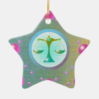 Star Sign Ornament Libra