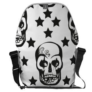 STAR skull Courier Bag