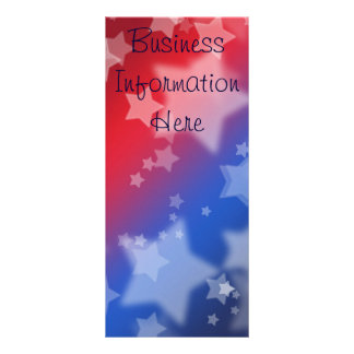 Star Spangled 2012 Calendar Bookmark Rack Card