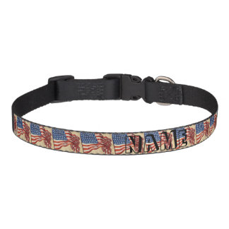 Star Spangled Banner Pet Collar